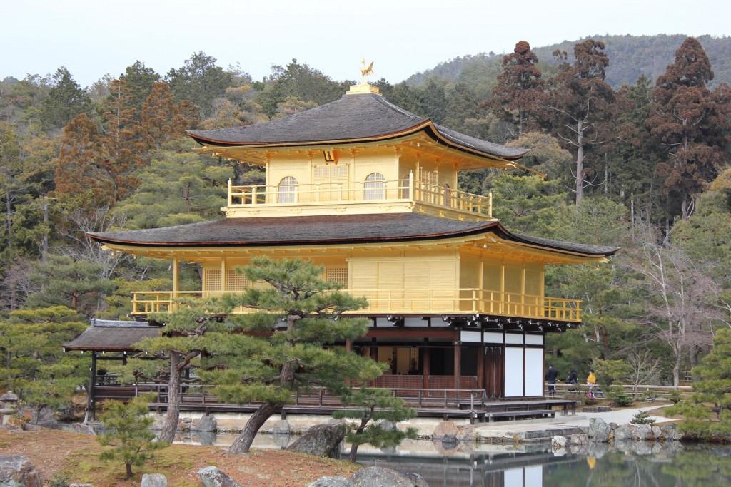 いい感じの金閣寺