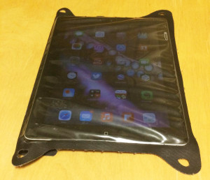 防水ケースin iPad