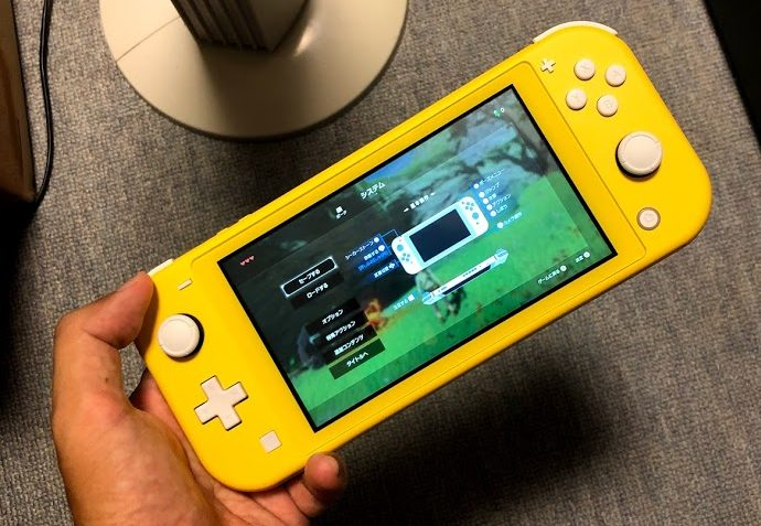 Nintendo Switch Lite イエローを買って使ってみた感想