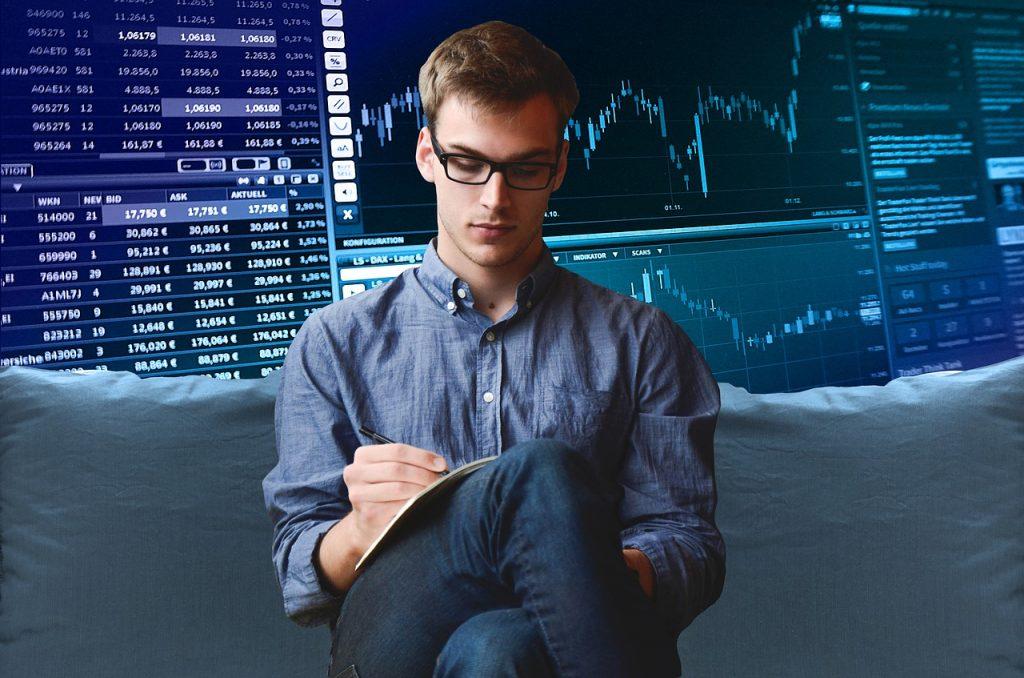 株取引イメージ